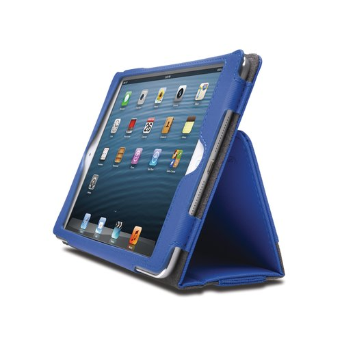 Funda flexible tipo libro Portafolio™ para iPad® mini- Azul