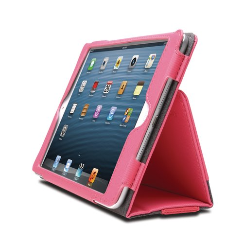 Funda flexible tipo libro Portafolio™ para iPad® mini- Rosa