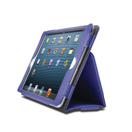 Funda flexible tipo libro Portafolio™ para iPad® mini- Púrpura