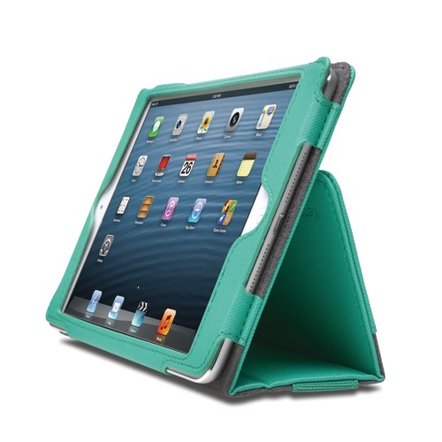 Funda flexible tipo libro Portafolio™ para iPad® mini- Esmeralda