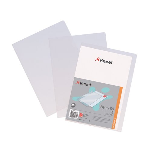 Nyrex™ 80 Letter File Folder A4 Clear (25)