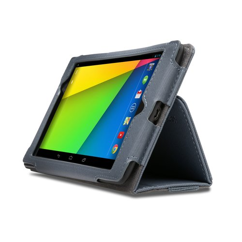 Portafolio™ Soft Folio Case for Nexus® 7 — Slate Grey