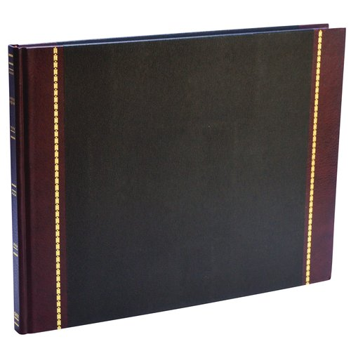 "Wilson Jones® Visitors Register Book, 9 1/2"" x 12 1/4"", 3400 Entries, 208 Pages"