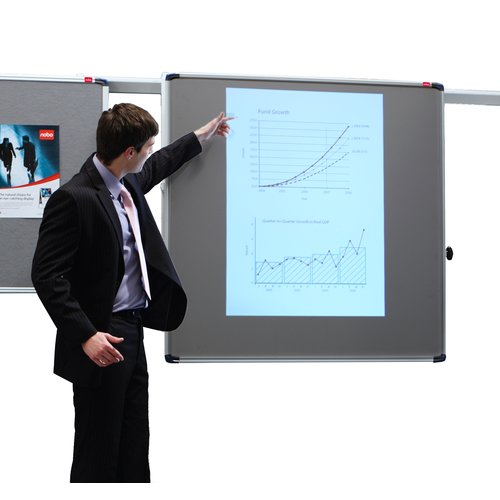 ProRail Projection Screen 1200mm Sq