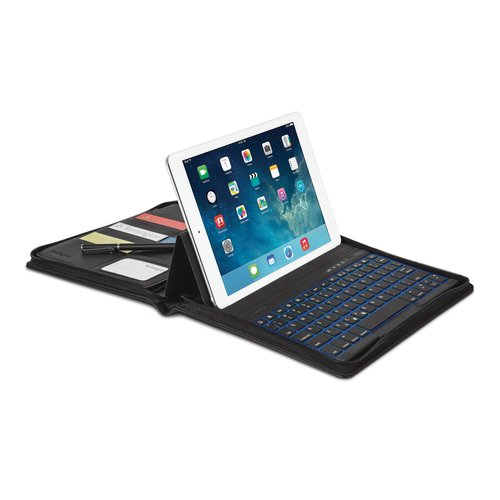 KeyFolio Executive™ Plus- Zipper Folio with Keyboard for iPad® Air 2 & iPad Air