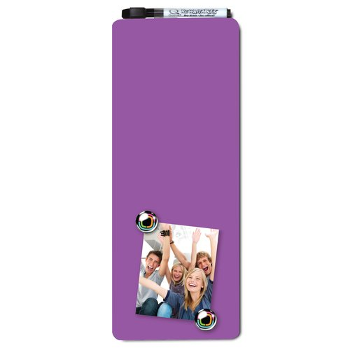 Quartet Magnetic Dry-Erase Strip Purple 140x360mm