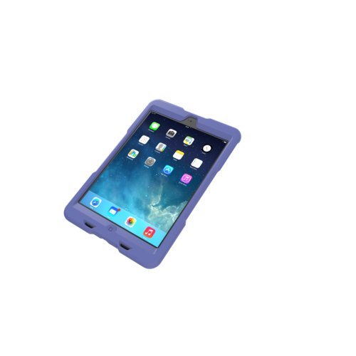 BlackBelt 1st Degree Rugged Case for iPad mini - Plum