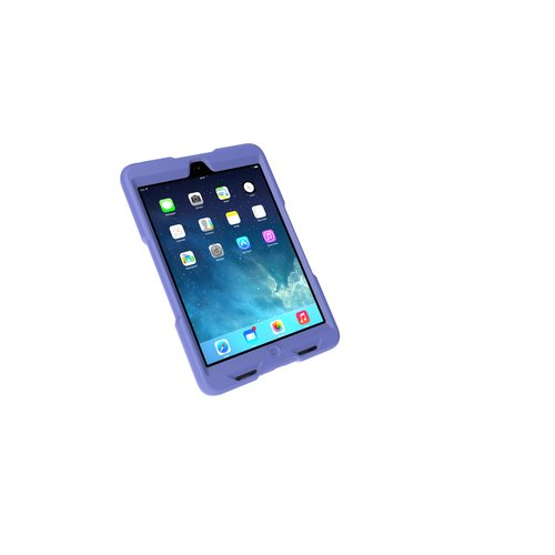 BlackBelt 2nd Degree Rugged Case for iPad mini — Plum