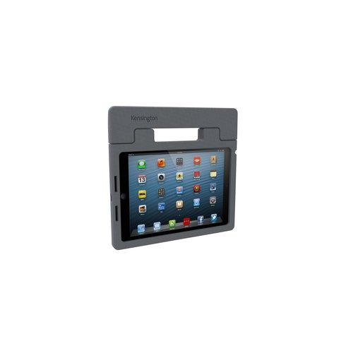 SafeGrip™ Rugged Carry Case & Stand for iPad® Air - Charcoal