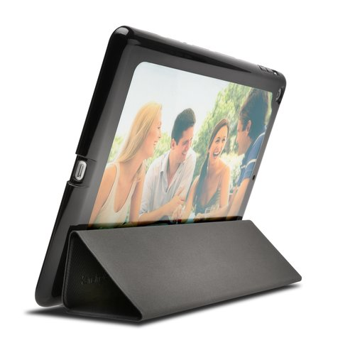 Portafolio Me™ Customizable Folio Case for iPad® mini — Smoke
