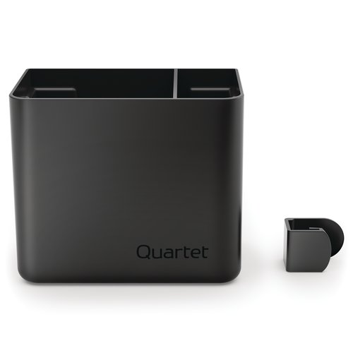"Quartet® Prestige® 2 Connects™ Accessory Storage Cup, Large, 4"" x 5"" x 3"""