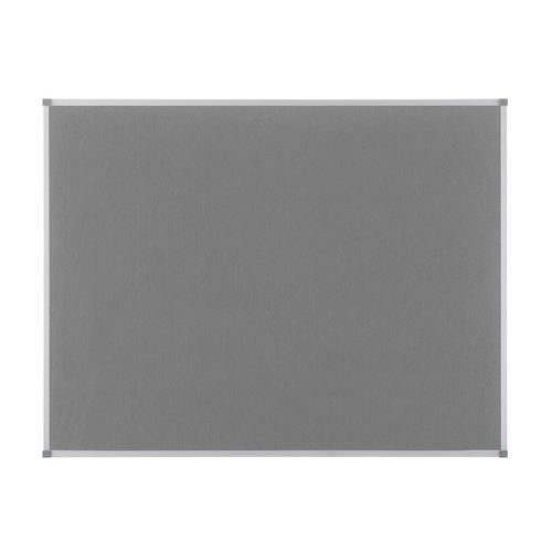 Classic Felt Noticeboard Grey 900x600mm