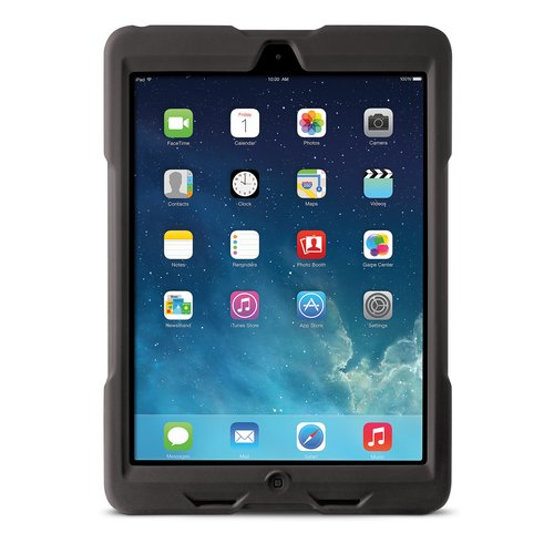 Funda resistente BlackBelt 1st Degree para iPad® Air: negro
