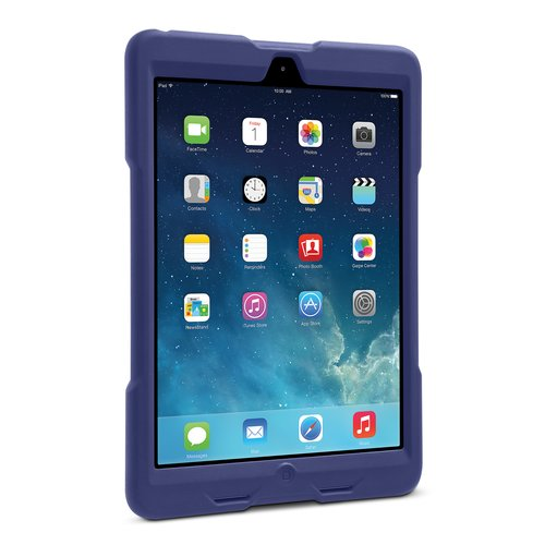 BlackBelt 1st Degree Rugged Case for iPad® Air - donkerrood
