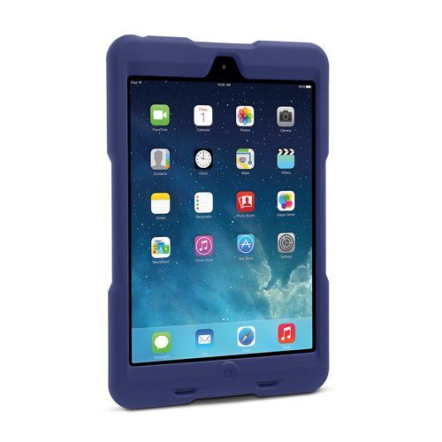 Funda resistente BlackBelt 1st Degree para iPad mini: ciruela