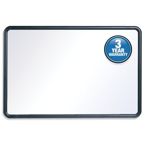 Quartet® Contour® Whiteboards, Plastic Frame