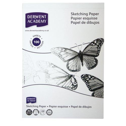Derwent Academy Sketch Pad A4 100 Page
