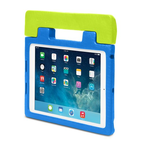 SafeGrip™ Rugged Carry Case & Stand for iPad® Air - Blueberry