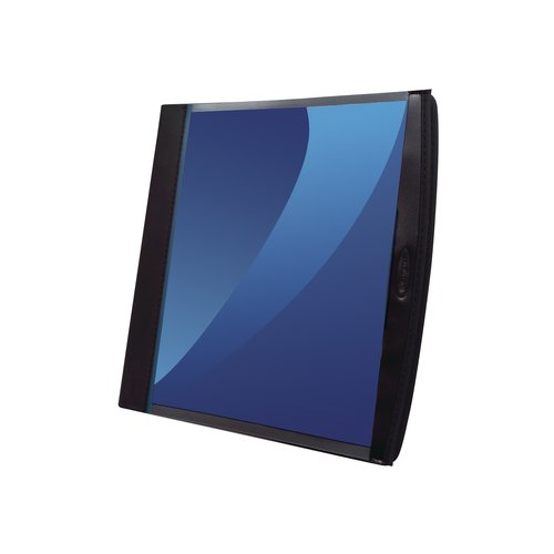 GBC® Smart-View® Presentation Book, Sheet Protectors Included, Black with Clear Cover
