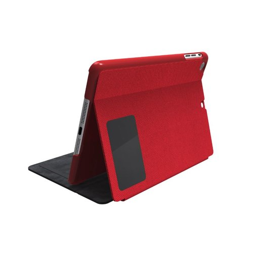 Comercio™ Hard Folio Case & Adjustable Stand for iPad® Air - Red