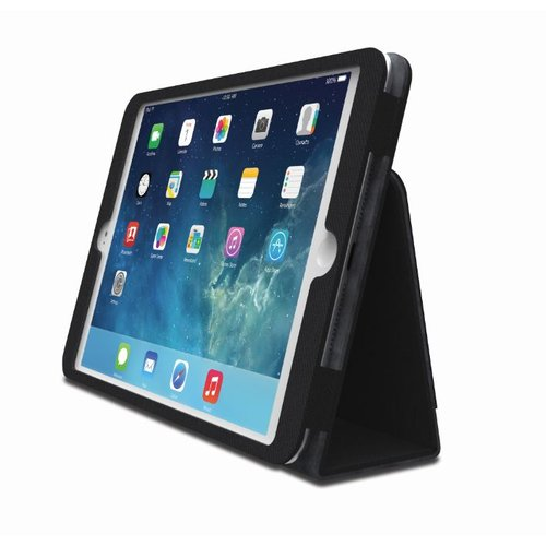 Comercio™  Soft Folio Case & Stand for iPad® Air - Textile Black