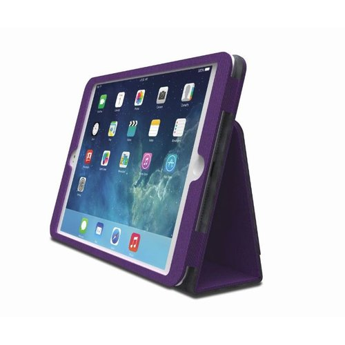 Comercio™  Soft Folio Case & Stand for iPad® Air - Purple