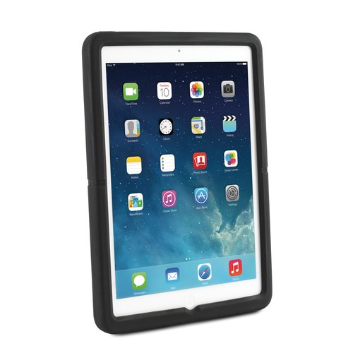 SecureBack™ M Series Rugged Case Enclosure for iPad Air™ — Black