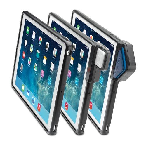 SecureBack™ M Series Modular Enclosure with Credit Card Reader for iPad® Air — Black