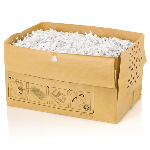 Swingline® 7 Gallon Recyclable Paper Shredder Bags, For Stack-and-Shred™ 100X Hands Free Shredder, 5/Pack
