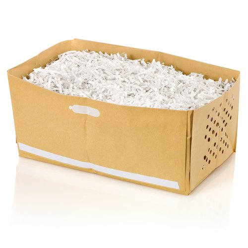 Swingline® 4 Gallon Recyclable Paper Shredder Bags, For Stack-and-Shred™ 60X Hands Free Shredder, 5/Pack