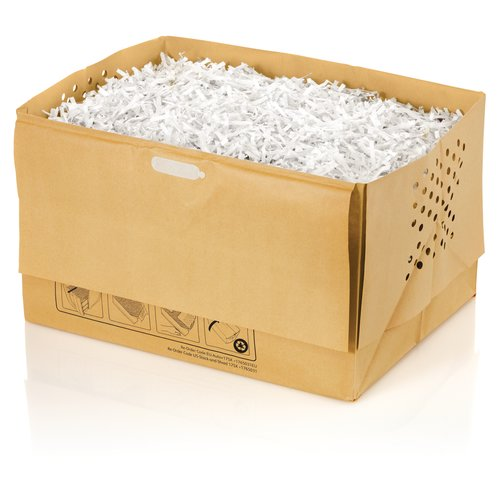 Swingline® 9 Gallon Recyclable Paper Shredder Bags, For Stack-and-Shred™ 175X/200X Hands Free Shredders, 5/Pack