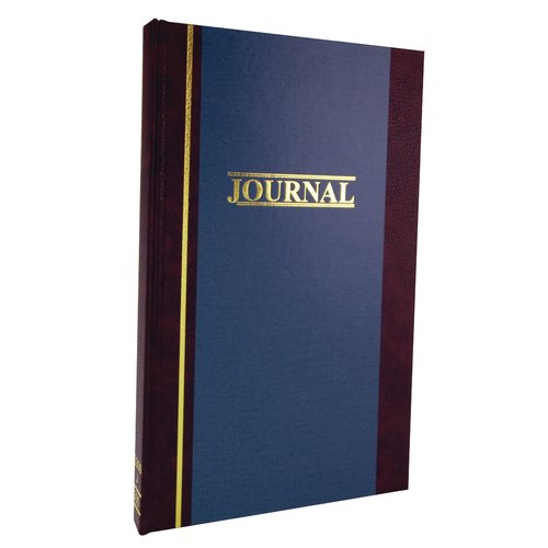 "Wilson Jones® S300 Account Journal, 11 ¾"" x 7 ¼"", 35 Line, 150 Pages, Record Ruled"