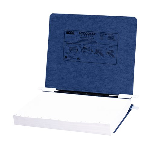 "ACCO® PRESSTEX® Covers with Storage Hooks, For Unburst Sheets, 11"" x 8 1/2"" Sheet Size"