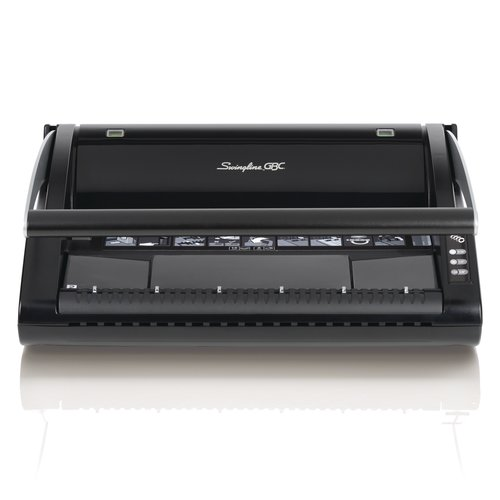 Swingline GBC ProClick P110 Manual Binding Machine, Binds 110 Sheets, Punches 15 Sheets