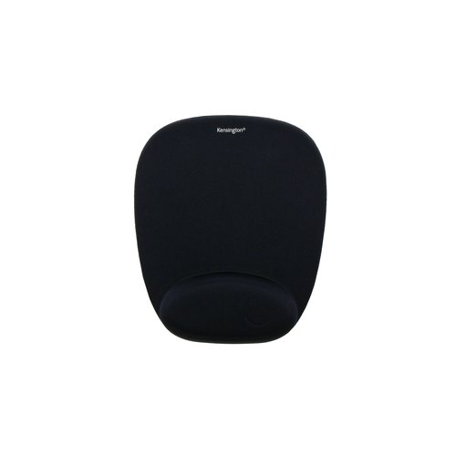 Foam Mousepad with Integral Wrist Rest Black