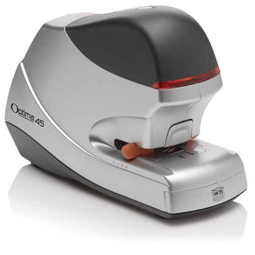 Swingline® Optima® 45 Electric Stapler, 45 Sheets, Silver