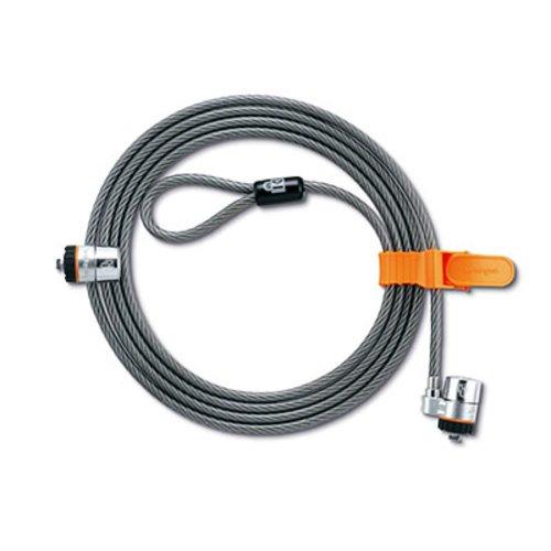 Câbles de sécurité à clé MicroSaver® pour ordinateur portable - jumeaux - accès passe-partout personnalisé