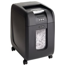 Swingline® Stack-and-Shred™ 230X Auto Feed Shredder, Super Cross-Cut, 230 Sheets, 1-5 Users