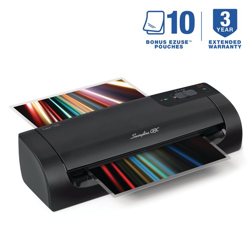 "Swingline™ GBC® Fusion™ 1000L 9"" Laminator, 5 Minute Warm-up, 3 or 5 Mil (up to 4"" x 6"")"