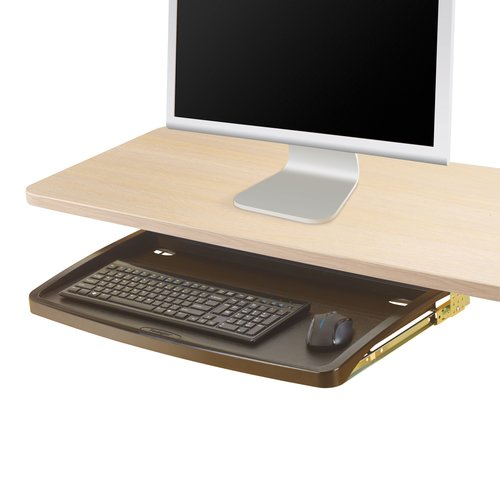 Kensington® Under-desk Comfort Keyboard Drawer with SmartFit® System