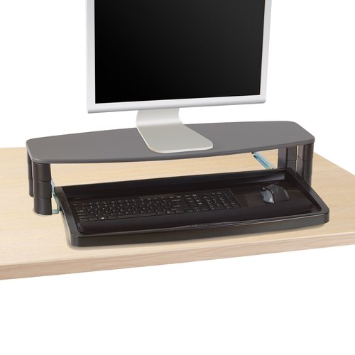 Kensington® Over/Under-desk Keyboard Drawer with SmartFit® System