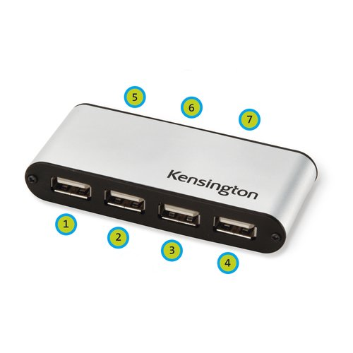 Kensington PocketHub 7-Port USB