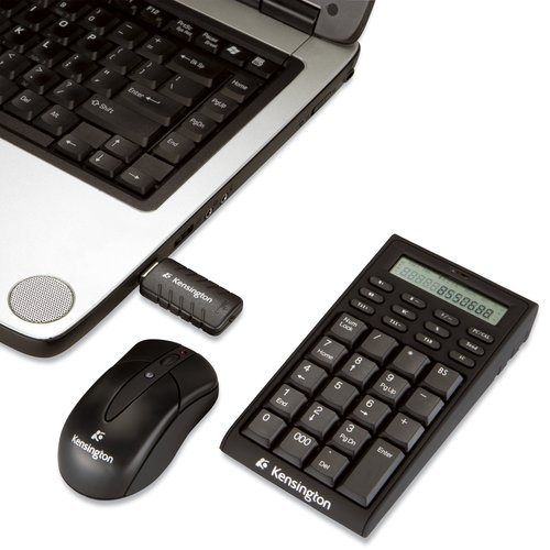 Kensington Wireless Keypad/Calculator mit Maus