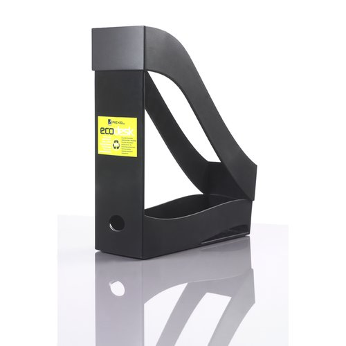 Ecodesk Magazine Rack Black