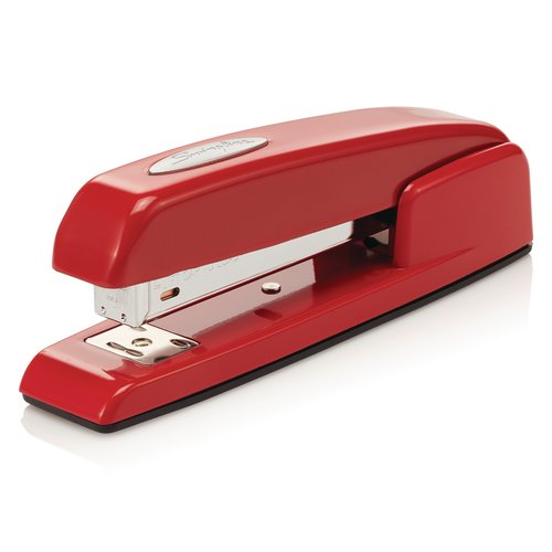 Swingline® 747® Rio Red Stapler, 20 Sheets, Red