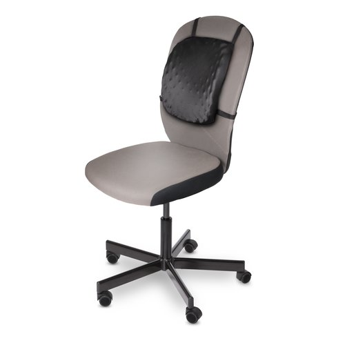 HalfBack Back Rest Black