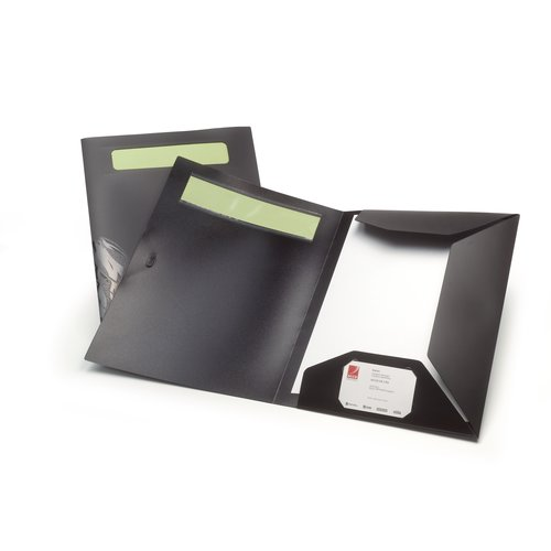 Ecodesk Flap Folder Zwart