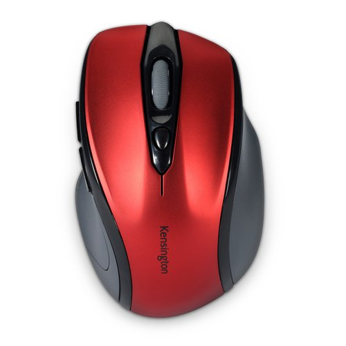 Mouse wireless Pro Fit® di medie dimensioni - rosso rubino