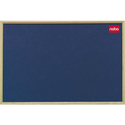 Classic Felt Noticeboard - Light Oak Frame
