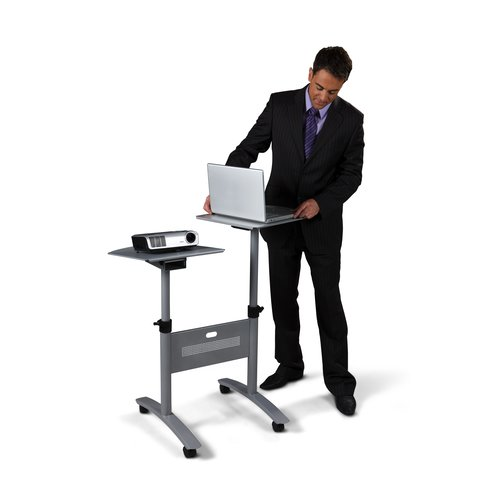 Multimedia Projection Trolley - Twin Platform